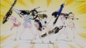 【ネタ】でかい武器と可愛い女の子の組み合わせは最高だぜ!